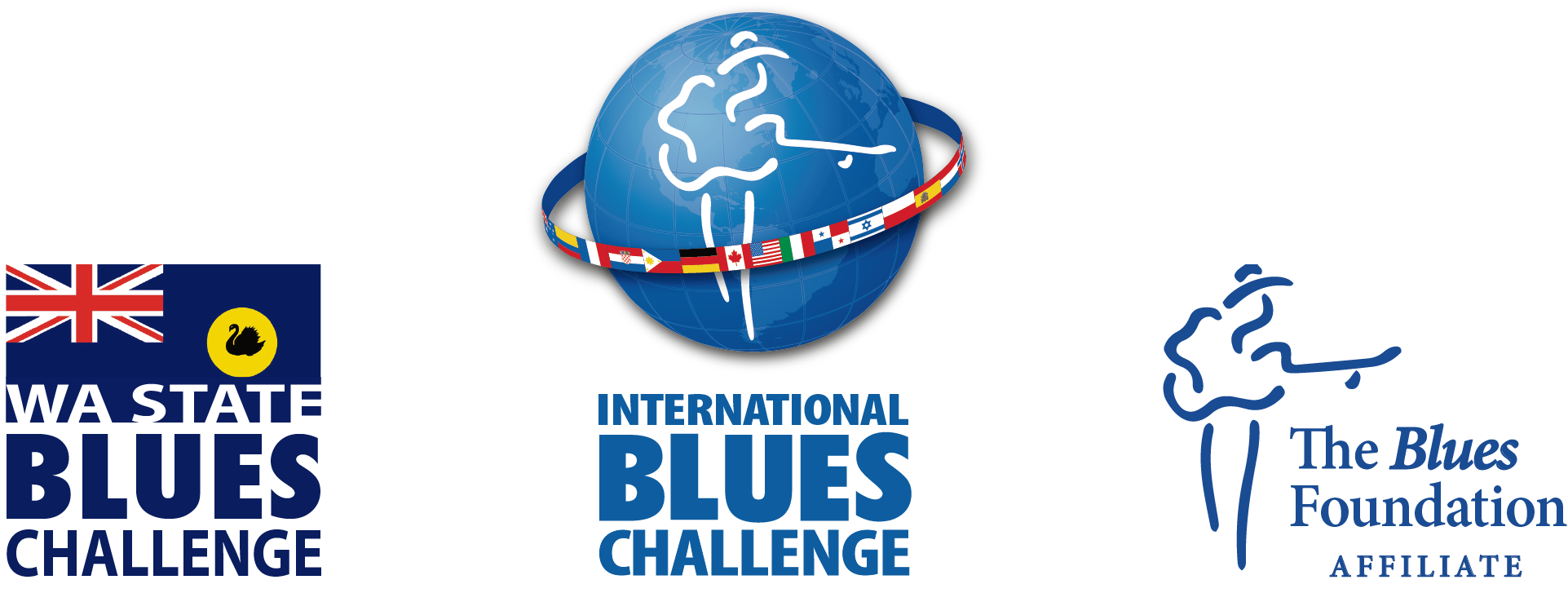 Blues Challenge & Affiliate Logos
