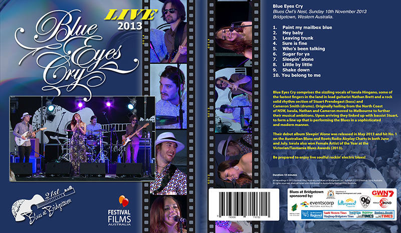 DVD Cover Blue Eyes Cry