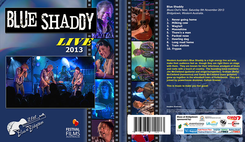 DVD Cover Blue Shaddy