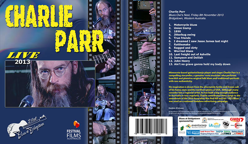 DVD Cover Charlie Parr