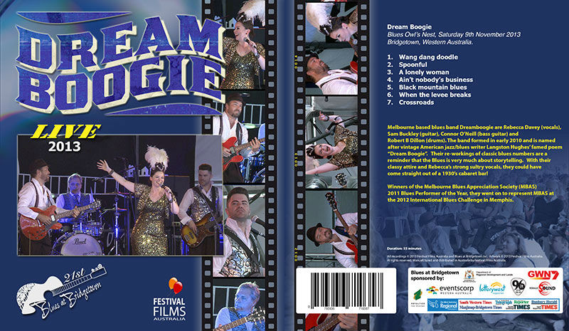 DVD Cover Dream Boogie