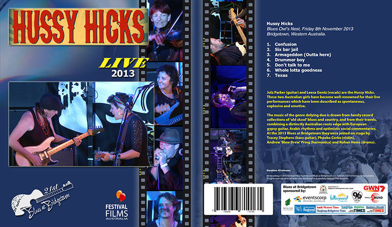 DVD Cover Hussy Hicks