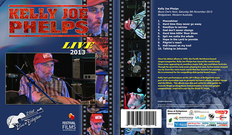 DVD Cover Kelly Joe Phelps