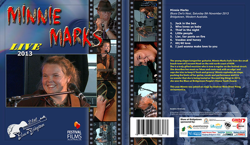 DVD Cover Minnie Marks