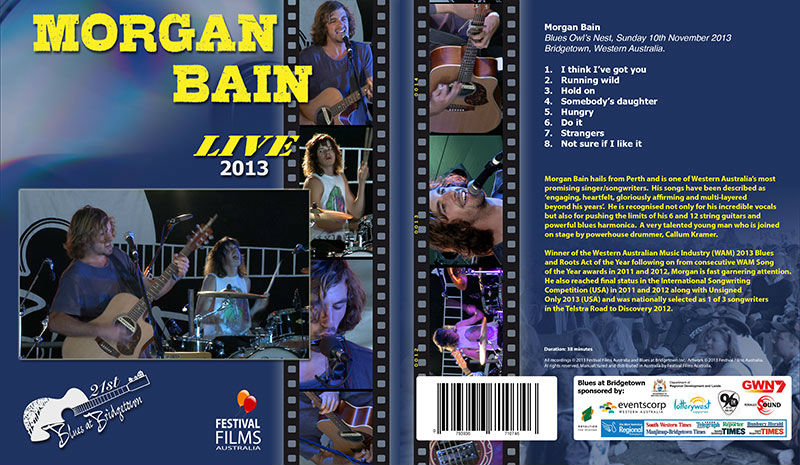 DVD Cover Morgan Bain