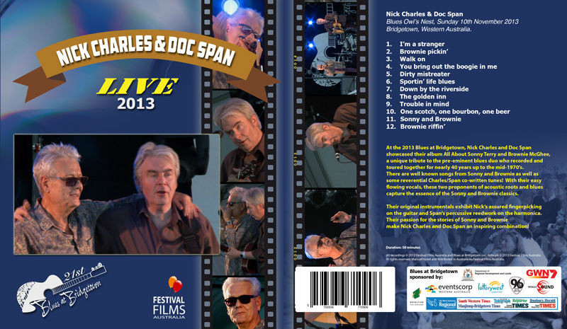 DVD Cover Nick Charles & Doc Span