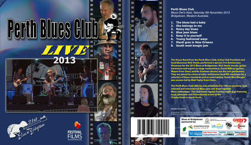 DVD Cover Perth Blues Club