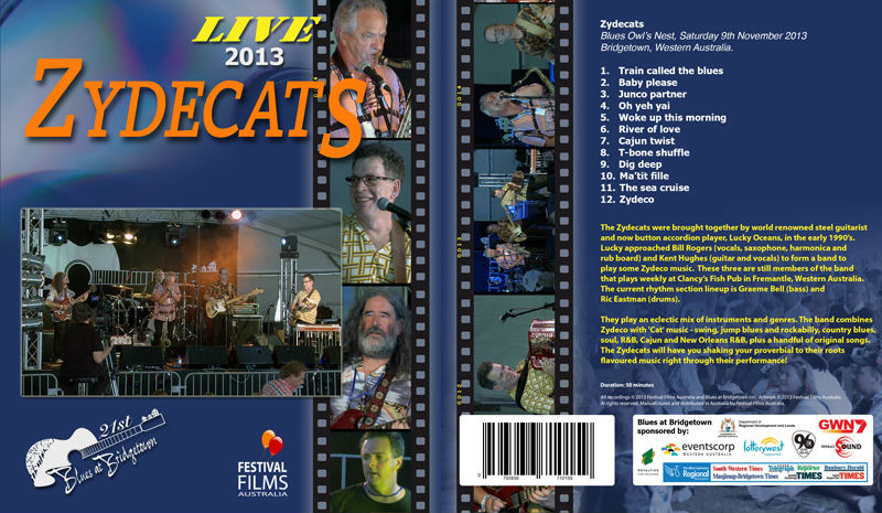 DVD Cover Zydecats